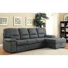 Furniture Of America Alcester Sectional