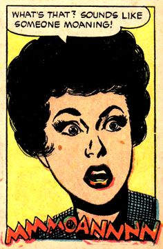 —Ghost Comics by Bill Benulis & Jack Abel Comics Love, Comics Girls, Funny Comics, Comic Books Art, Comic Art, Ghost Comic, Vintage Pop Art, Comic Book Panels, Horror Comics