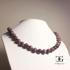 Here we have another truly amazing and mesmerising example of nature's magnificence, Russian natural Charoite is like most vivid dream of… Gemstone Necklace, Beaded Necklace, Necklaces, Vivid Dream, Gemstones, Natural, Amazing, Unique, Beautiful
