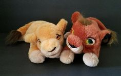 Disney Lion King 2 Stuffed Plush Toy Kovu And Kiara Simbas Pride Cubs 18 Inches   Collectibles, Disneyana, Contemporary (1968-Now)   eBay!