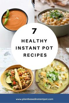 Healthy Instant Pot Recipes for Winter Days - I have a vegan menu plan for your week and its full of Healthy Instant Pot Recipes. These are all simple to make if youre an Instant Pot Newbie or have been cooking in your electric pressure cooker for years. Vegan Menu, Vegan Cookbook, Vegan Food, Quick Dinner Recipes, Quick Easy Meals, How To Cook Dumplings, Instant Pot, Vegetarian Recipes, Healthy Recipes