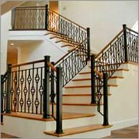 Wrought Iron Stair Railings | Wrought Iron Stair Railings - Wrought Iron Stair Railings Exporter ...