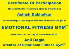 "#ALDUBSusiNgMansyon "" I feel this is a lot more practice, it always gives you a calming influence ""  Ashish Dabholkar , HR Specialist & NLP Master Prctitioner, ICF Certified NLP Master Coach - Testimonials #Emotional #Fitness #Gym  http://www.anildagia.com/testimonials/400-ashish-dabholkar-anil-dagia-s-emotional-fitness-gym-pune-india  #NLP Training from Anil Dagia - #India's #Most #Innovative #NLP #Trainer"