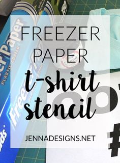 63 New Ideas Design Tshirt Kids Freezer Paper Freezer Paper Crafts, Freezer Paper Shirt, Freezer Paper Transfers, Freezer Paper Stenciling, Transfer Paper, Heat Transfer, Fabric Paint Shirt, Stencil Fabric, Paint Shirts