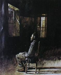 Moved Out by Andrew Wyeth