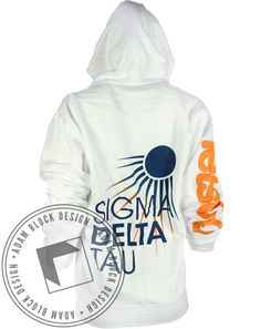 Sigma Delta Tau Bird hoody by Adam Block Design