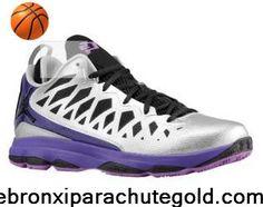 Jordan CP3.VI Nitro Pack Metallic Silver Purple CP3 Shoes 2013 Sports Shoes Shop