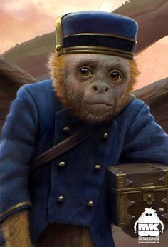 oz the great and powerful monkey - Google Search