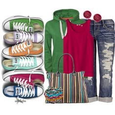Denim -- Cropped, Capri & Jeans - Polyvore