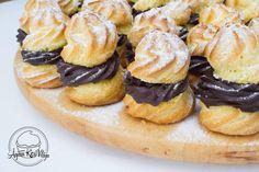 Ágiiiiii Kicsi Világa: Trüffel krémes képviselőfánk Cheesecake, Muffin, Cookies, Breakfast, Pastries, Food, Crack Crackers, Morning Coffee, Cheesecakes