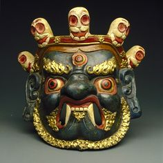 Mahakala Mask, Tibet  19th-20th c.