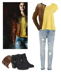 Hayden Romero - tw / teen wolf by shadyannon on Polyvore featuring polyvore fashion style Eileen Fisher Bamboo Leatherock clothing