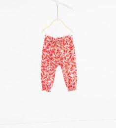 Imagen 1 de Pantalón estampado de Zara
