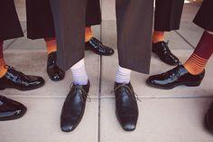 Mens socks, purple, Stephanie Williams