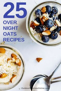 Delicious overnight oats just might save your family's morning. Here are 25 no-cook oatmeal recipes that can fit a healthy meal into any busy schedule.