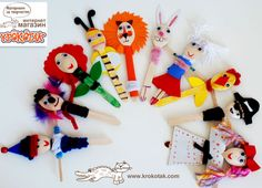 Wooden Spoon DOLLS | krokotak