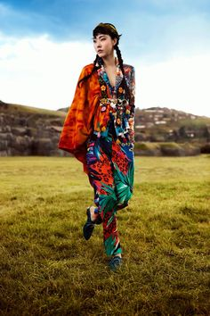 stylekorea:    Vogue Korea  Title: La Señorita Bello  Model: Han Hye Jin  Photographer: Alexander Neumann  July 2012