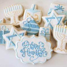 Hanukkah Cookie Set