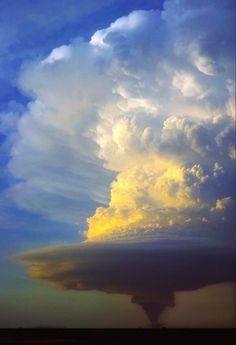 This is breathtaking! Tornadic supercell