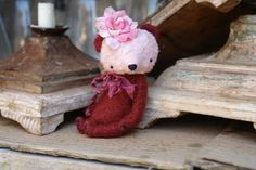 45 inch Artist Handmade Teddy Bear Rosy by Sasha by SashaPokrass, $145.00