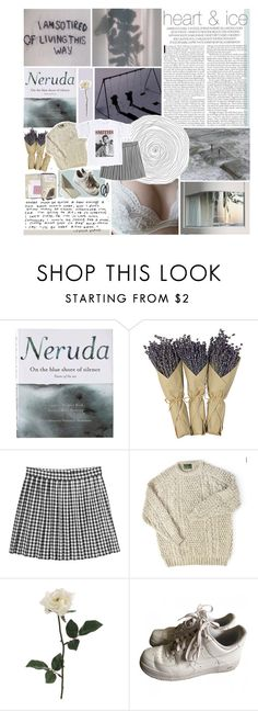 """""""here in a heartbeat"""" by neptnue ❤ liked on Polyvore featuring Patagonia, Mills Floral Company, Monki, NIKE, Goody and kikitags"""