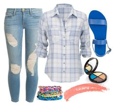 A Getting Things Done Day by ellary-branden on Polyvore featuring maurices, Frame Denim, Ancient Greek Sandals and Topshop