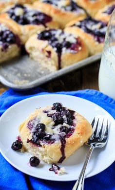 Blueberry Kolaches, could make any flavor, juneberry, rhubarb, apple, peach, yum!!!