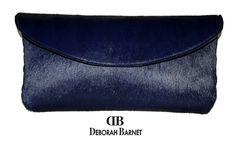 Deborah Barnet Pony Hair Clutch HANDBAGS, BAGS, CLUTCHES