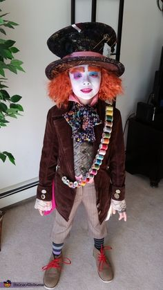 Mad Hatter - Halloween Costume Contest via @costume_works