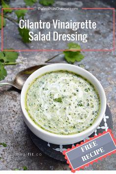 Tasty cilantro salad dressing recipe