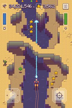 Upcoming flying/shooting game by Happymagenta: pixel-perfect or pixel-art, you choose - Touch Arcade