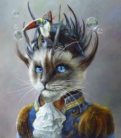 bubblecat by Wim Bals