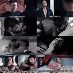 I read an amazing fanfic like this but Cas was the one sneaking out in the morning haha