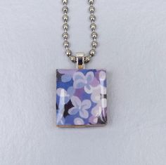 I used Mod Podge and Dimensional Magic Jewelry Making Tutorials, Jewellery Making, Mod Podge Dimensional Magic, Resin Crafts, Making Ideas, Dog Tag Necklace, Lilac, Personalized Items, Trending Outfits