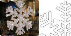 Que c'est beau!!!! Vous pourrez décorer vos fenêtres, le sapin de Noël, en ajouter à vos emballage cadeaux. Le faire essayer aux enfants assez vieux pour manier un fusil à colle chaude! En les fabriquant vous même vous pourrez les faire aux couleurx