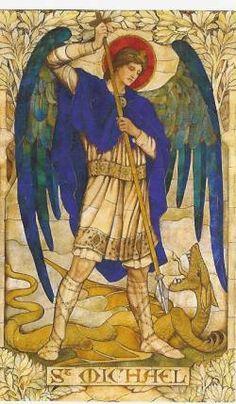 Sint michael en de draak