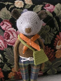 The Scout, via Flickr. #Amigurumi