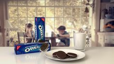 Oreo Scene 3D Visualization on Behance