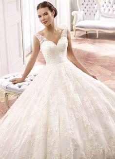 Editor's Pick: Eddy K Wedding Dresses 2015 Milano Collection: http://www.modwedding.com/2014/10/05/editors-pick-eddy-k-wedding-dresses-2015-milano-collection/ #wedding #weddings #wedding_dress