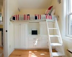 storage ideas for small bedrooms - Google Search