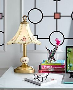 This vintage look polished brass finish table lamp comes with a handy touch on-off feature. high overall. Uses one maximum 40 watt bulb. Includes one 40 watt halogen base bulb for use. Style # at Lamps Plus. Table, Polished Brass, Table Lamp, Bulb, Lamps Plus, Table Lamps For Bedroom, Touch Table Lamps, Lamp Bases, Touch Lamp