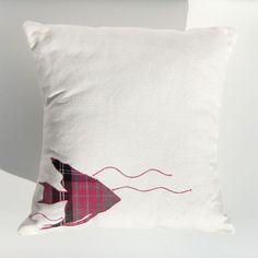 Pink Angel Fish Cushion £38.00