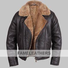 84c3c0009 Men's shearling sheepskin jacket - Warid in 2019 | Camperas ...