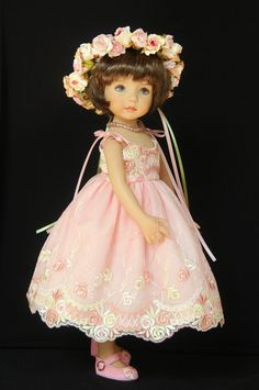 """May Flowers"" OOAK ensemble from glorias*garden ends 4/14/14 on ebay."