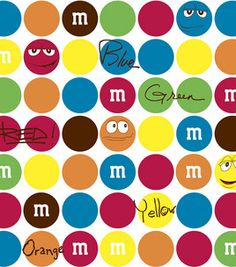 M #fabric -- almost as good as the candy :)