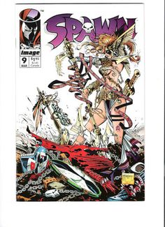 SPAWN #9 First appearance of Angela! Hot item!  http://r.ebay.com/QQRJhd