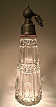FRENCH Spray Atomizer PERFUME Bottle BACCARAT Paris.