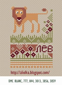 Russian cross stitch designs!