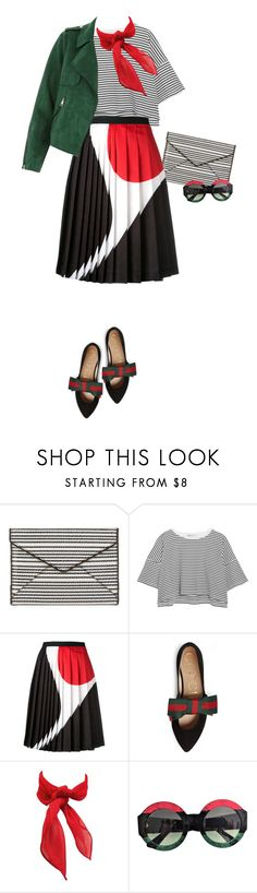 """Little Girl"" by ms-wednesday-addams ❤ liked on Polyvore featuring Rebecca Minkoff, T By Alexander Wang, Neil Barrett, Gucci and River Island"