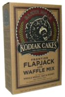 Kodiak Cakes Frontier Flapjack and Waffle Mix – Whole Wheat Oat and Honey - This mix is the bomb! It's so nice to find a convenience product that is clean and minimally processed! -Ingredients: 100% whole grain wheat flour, 100% whole grain oat flour, non-fat dry milk, dry honey (honey, wheat starch), leavening (sodium bicarbonate, sodium aluminum phosphate, monocalcium phosphate), egg whites, salt. Just add water.